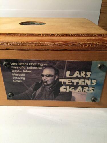 Lars Tetens Cigars...Shorty...Wooden Cigar Box and Humidor