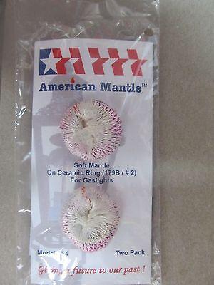 American Mantle Gaslight Mantle Soft inverted No. 2  #254