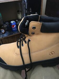 BRAND NEW work boots size 13 steel toe