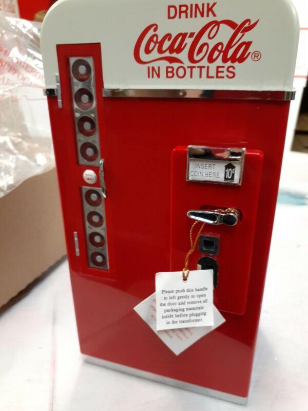 New Rare Coca-Cola Illuminated Multi-Action Deluxe Musical