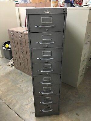 Ase 8-drawer Index Card File Cabinet