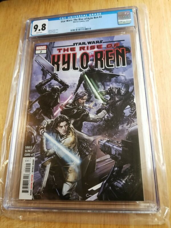 Star Wars rise of kylo Ren 2 cgc 9.8 first mention of The high republic. 🔥 wow