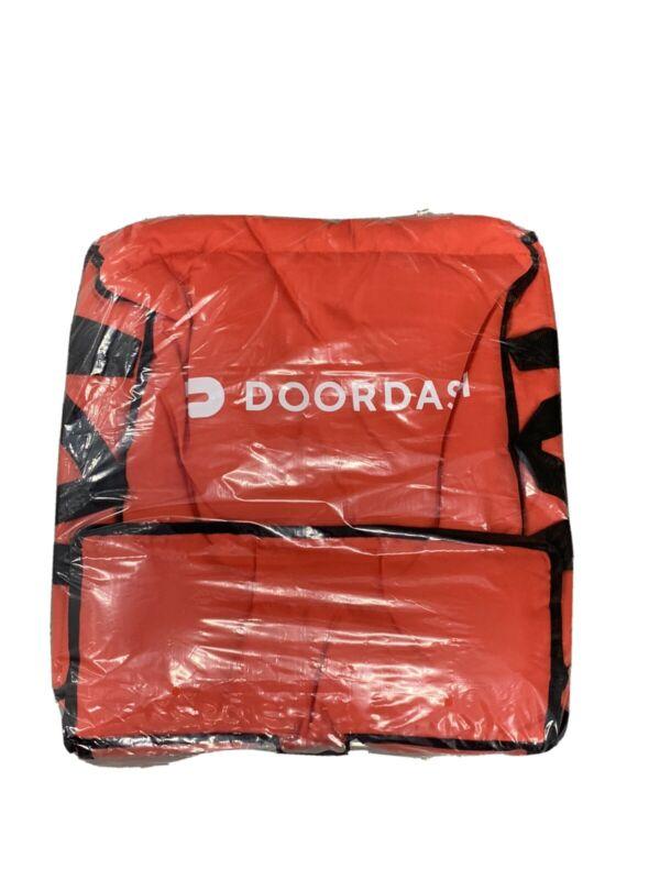 Doordash Official Pizza Delivery Bag - Insulated Bag + Car Magnet!
