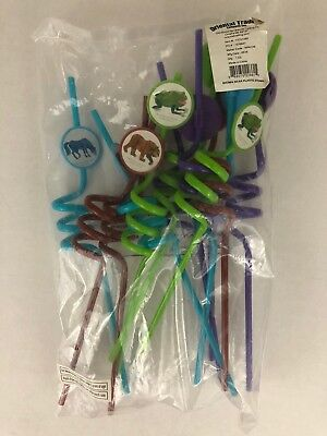 Eric Carle's Brown Bear Brown Bear Plastic Party Straws Oriental Trading One DZ - Orient Trading