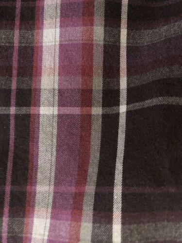 Magnifique chemise à manches longues mise au green  taille l Écossaise mauve