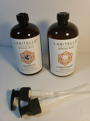 Laritelle Organic Shampoo & Conditioner Prevents Hair Loss P