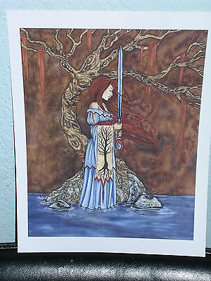 Amy Brown - Maiden Sword - OUT OF PRINT - RARE