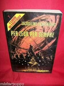 JACQUELINE-LICHTENBERG-Per-Zeor-per-sempre-1983-Fanucci-Prima-Edizione
