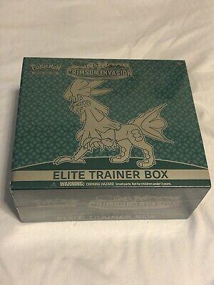 Pokemon Sun and Moon Crimson Invasion Elite Trainer Box - Factory Sealed