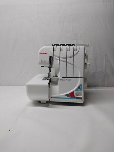 Janome Serger Sewing Machine 8933D Overlock- Open box