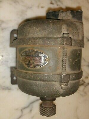 Vintage Delco Appliance General Motors Alternating Current Three Phase Motor