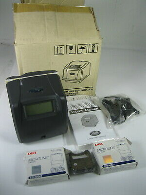 Lathem 900e Time Clock Bundle