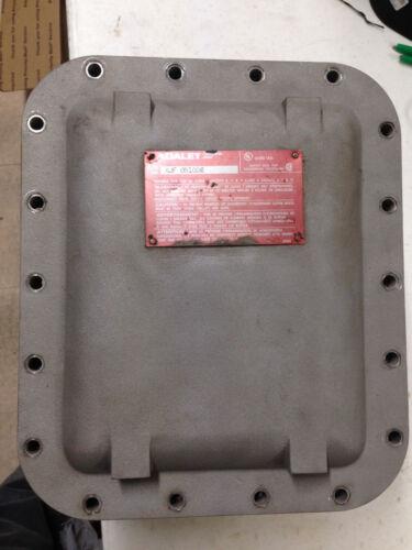 ADALET XJF 081006 EXPLOSION PROOF BOX, USED
