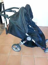 Steelcraft agile twin stroller- black Cranebrook Penrith Area Preview