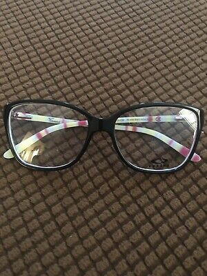 NEW 2 Pair - OAKLEY Women's  FINESE BLACK And Navy Blue AUTHENTIC Glasses (Oakley Glasses For Women)
