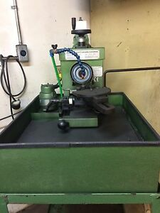 Carbide saw side grinder
