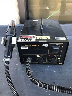 Hakko 850 Smd Hot Air Rework Station Ac100v 5060hz 270w Jd