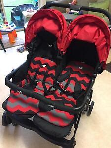 Urgent sale brand new  200$  Twin pram Bentleigh Glen Eira Area Preview