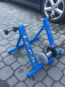 Magnetic cycle trainer
