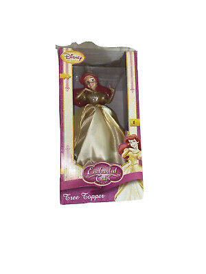 Kcare Disney Princess Ariel Little Mermaid Christmas Tree Topper Doll NOS