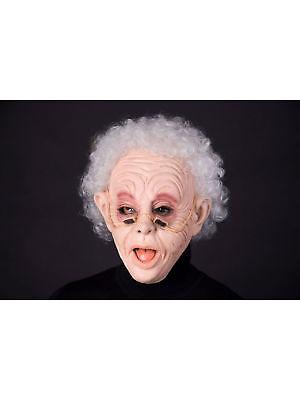 Maske für Erwachsene Oldie mit Haar Party Kostüm Gesichtsmaske (Gesichts Haar Kostüme)