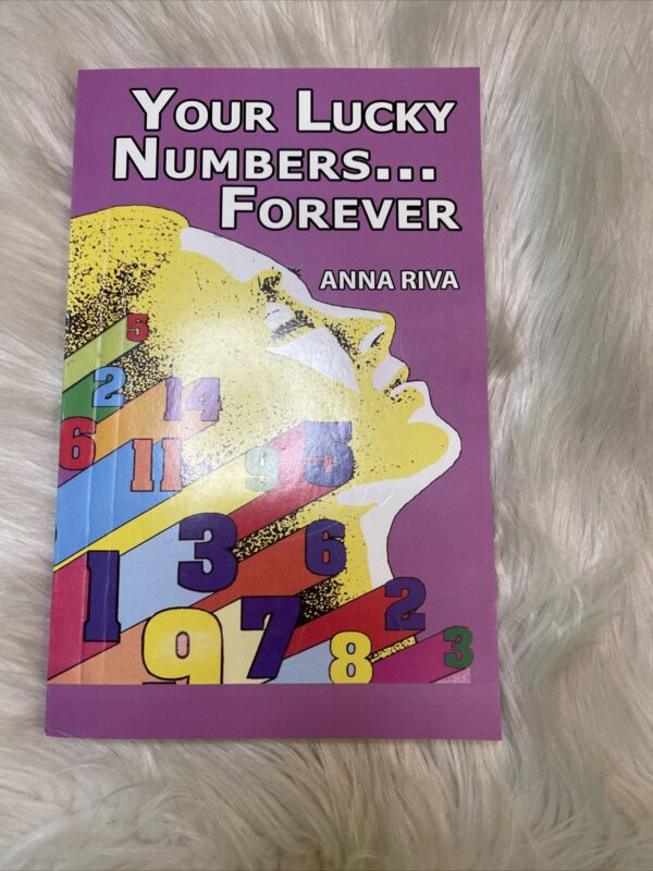 Your Lucky Numbers Forever Book by Anna Riva~ Hoodoo, Voodoo, Pagan, Wicca