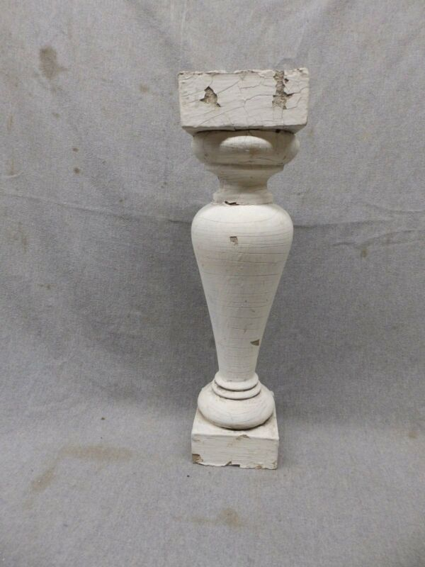 1 Antique Large Architectural Porch Baluster Shabby Spindle Chic Vtg 984-17P
