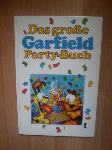 Buch,Das große Garfield Party-Buch