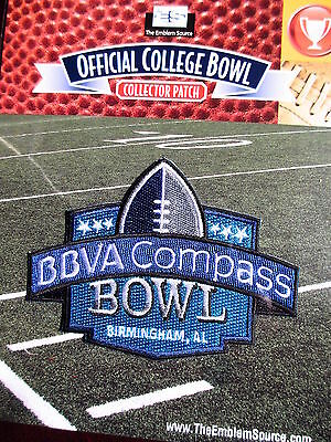 Ncaa College Football Bbva Compass Bowl Patch 2013 14 Houston  Vanderbilt