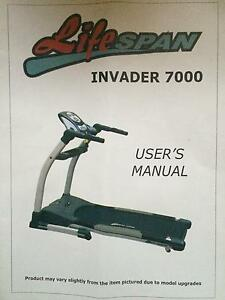 Treadmill Lifespan Invader 7000 Woodville Park Charles Sturt Area Preview