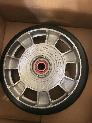 Magliner 8 Diameter Mold On Rubber Wheel 10815