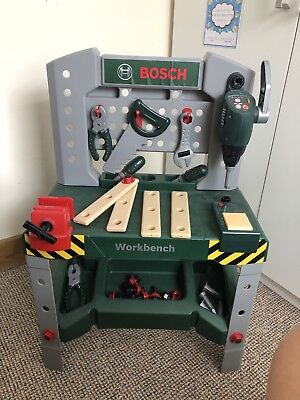 Children's / Kids Bosch Workbench and Tools - Toys, Role Play