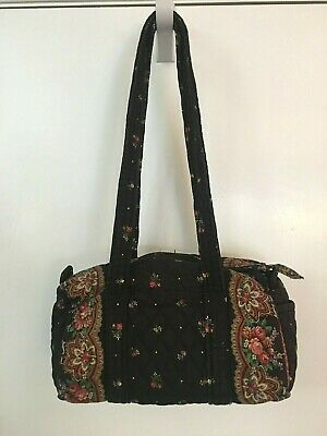 Vera Bradley Barrel Handbag in Retired Petit Point