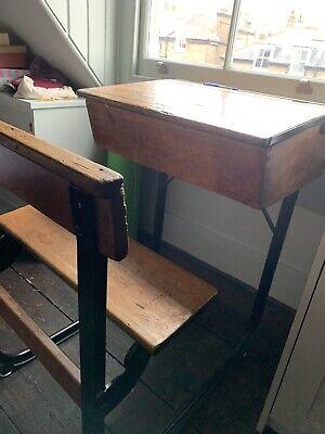 Vintage School Table Desk