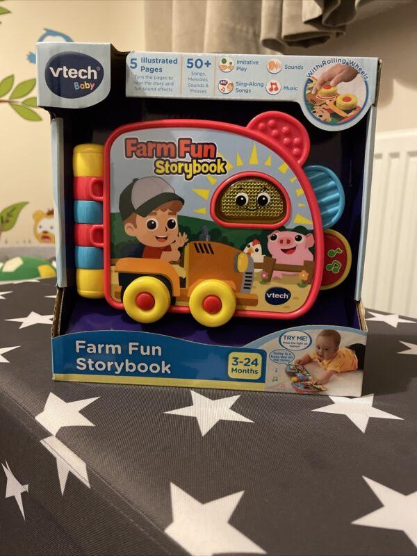 Vtech+Baby+Farm+Fun+Story+Book