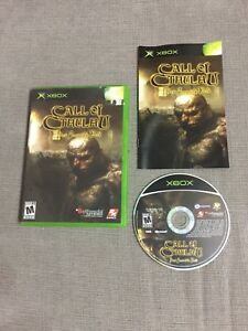 Call of cthulhu ( xbox )