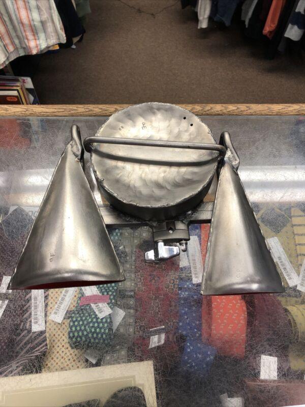 Gon Bops Shield Bell Silver Fabricated Steel Pete Engelhart S-691