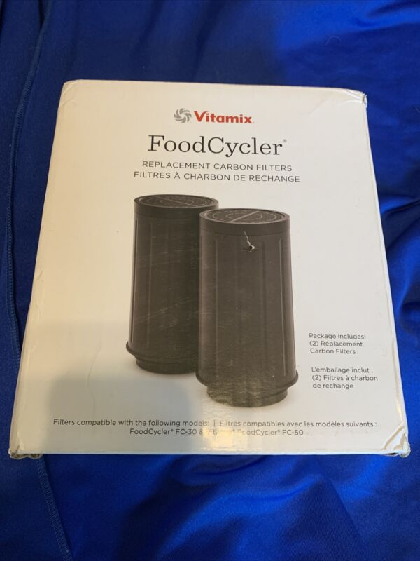 Vitamix Food Cycler Replacement Carbon Filters FC-30 FC-50 068151
