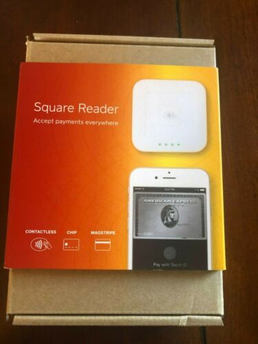 Square A-SKU-0113 Contactless Credit Card and Chip Reader - White