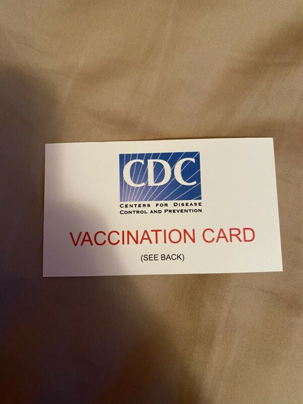 Go F Yourself Vaccination Card
