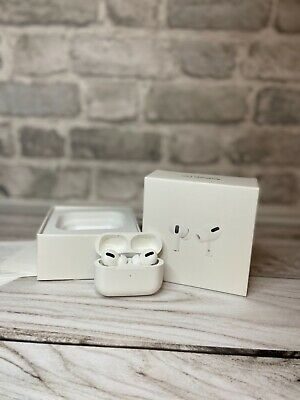 Apple AirPods Pro White In Ear Canal Headset with Wireless Case Original BOX