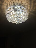 Pot lights and chandelier at reasonable prices