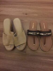 Spring Wedges and Sandals, Size 6, 15$
