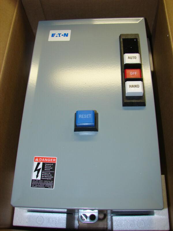 *NEW* Eaton ECX09C1THA-R63/B FVNR Motor Starter,24vac, Hand/Off/Auto 5VYY4