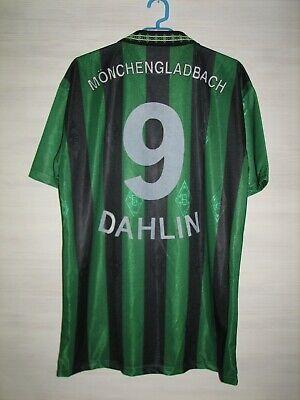 #9 DAHLIN BORUSSIA MONCHENGLADBACH 1995-96 HOME SHIRT REEBOK SOCCER SIZE XL image