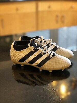 Gold Adidas ACE 16.3 FG Football Boots UK size 3