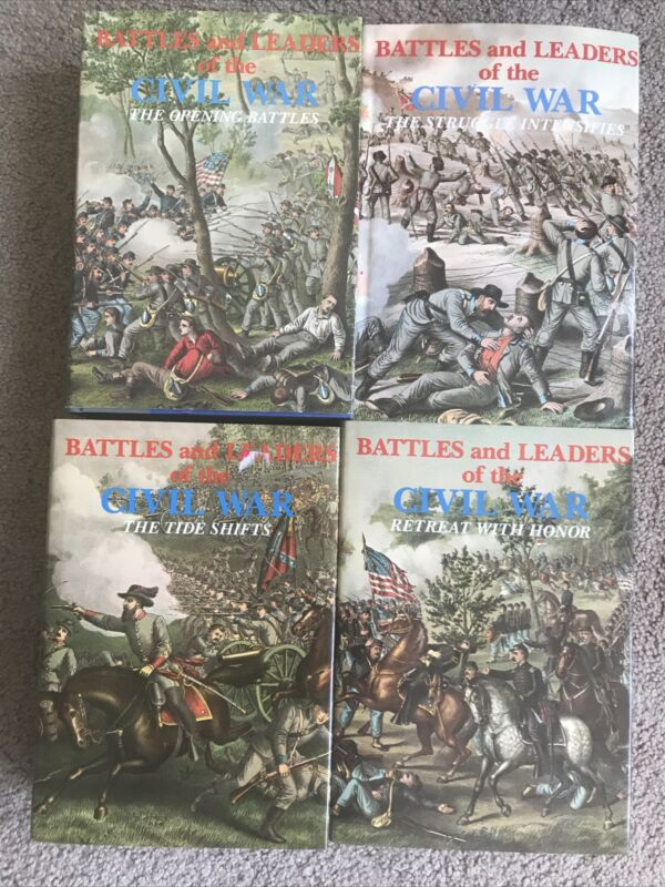 Battle and leaders of civil war American history