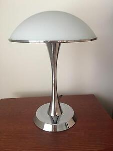2 x Lamp and Frosted White Glass Lamp Shade Flinders Shellharbour Area Preview