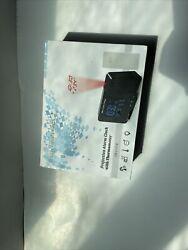 Smartro Projection Alarm Clock With Thermometer Wireless Remote Sensor Sm3531b