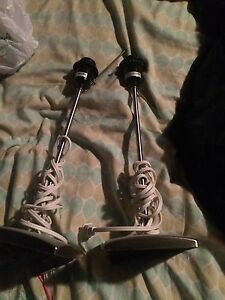 Small lamp stands